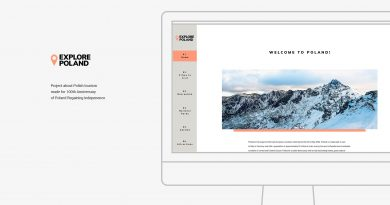 Explore Poland. Web Design project