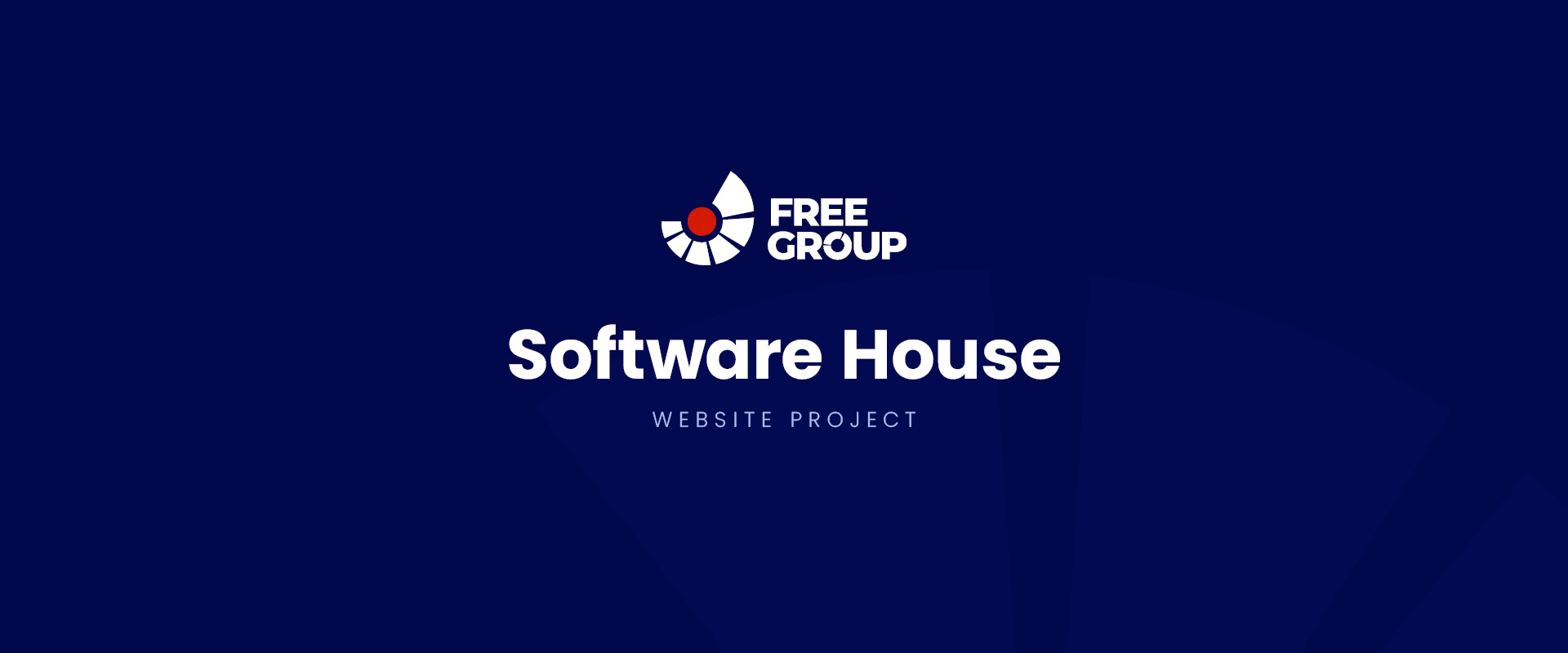FreeGroup. Software house. Website project